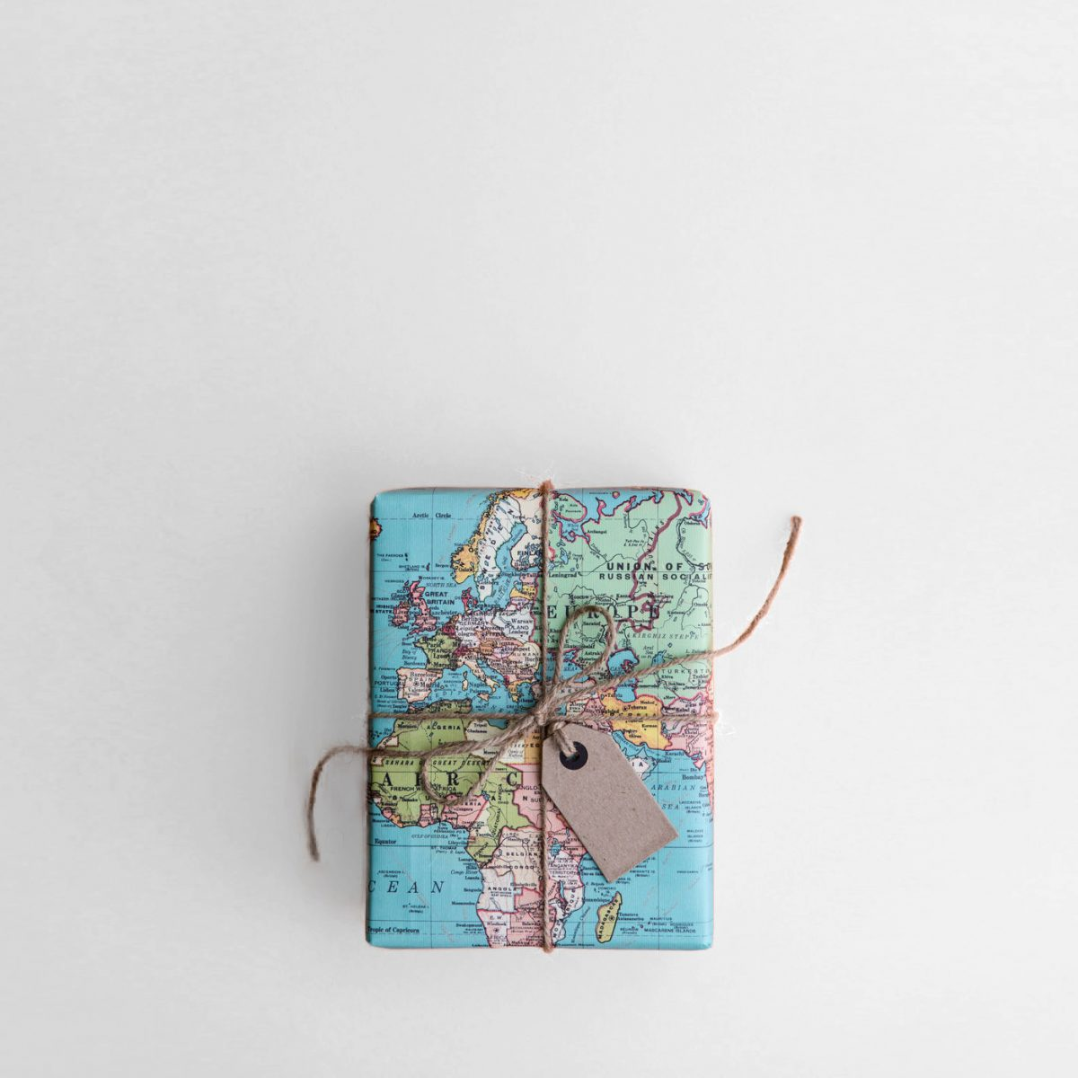 Gift Wrapped in Vintage Map represents profitability